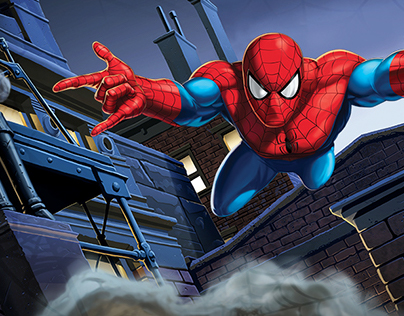 SPIDER MAN - Web Shooter