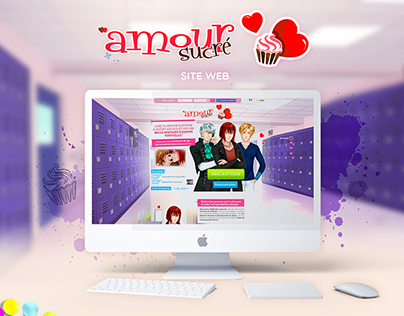 Site web Amour Sucré