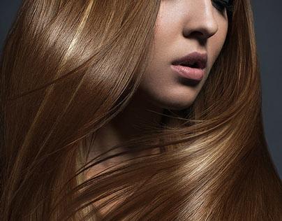 Hair retouching for Araman Studio