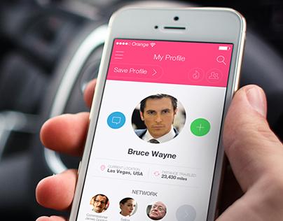iOS - Profile Screen