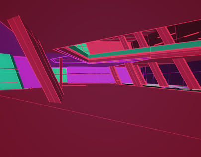 Architecture in motion graphics v.2
