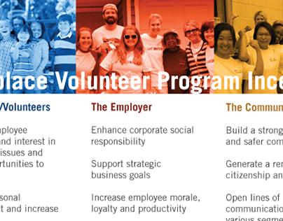 Workplace Volunteer Program Incentives Pamphlet