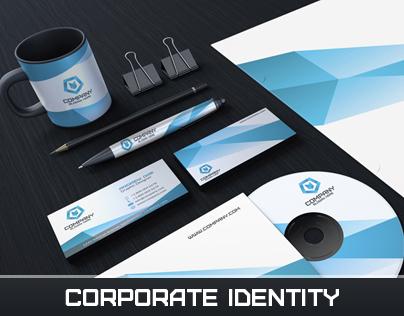 Blue Corporate Identity Pack