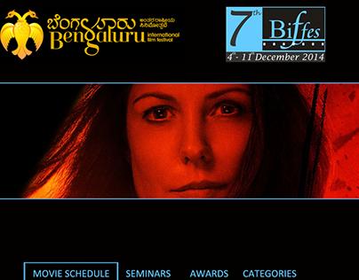 BIFFes website design