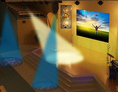 Projeto de Igreja ( Maquete + fotos do resultado final)