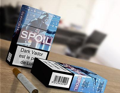 Des spoilers sur les cigarettes pour arrêter de fumer ?