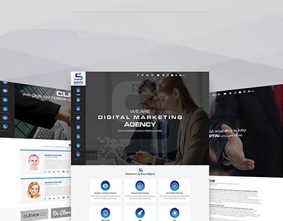 Soyo - Website Design