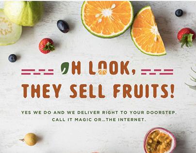 Fruits Co. – Website Copy