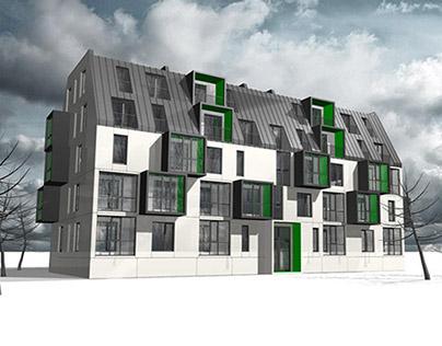 housing complex ZARECHANY