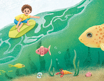 Illustrations for the children's book