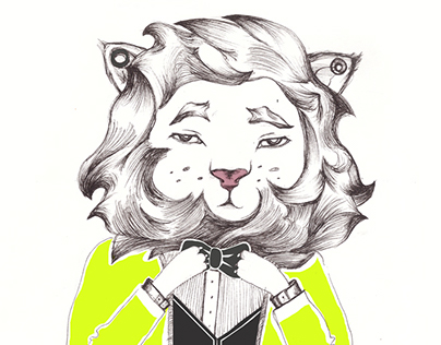 Lion in style