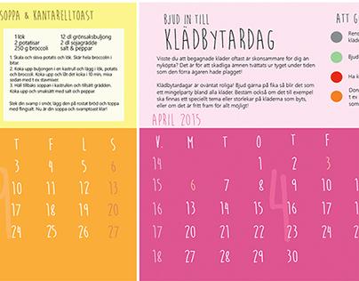 Interactive Wall Calendar