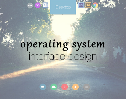 Operating system - interface design