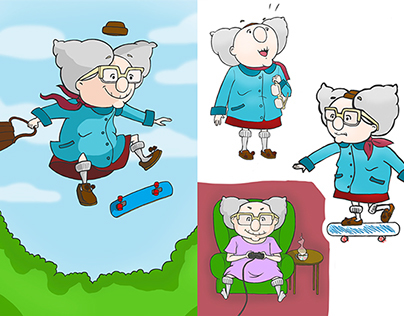 Granny Skateboard