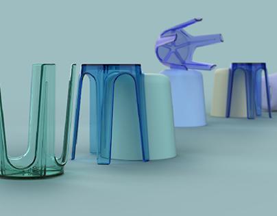 Euljiro stool / Chair / 2020