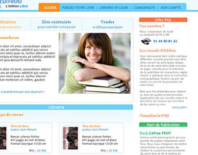 Webdesign – homepage