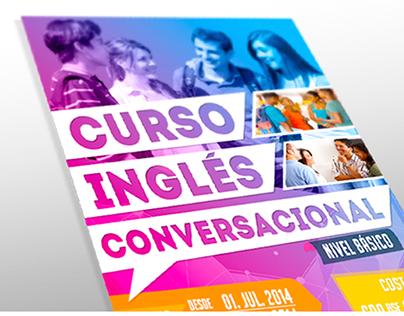 Poster // Curso Inglés
