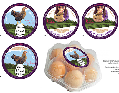 Bliss Falls Farm: Organic Egg Label