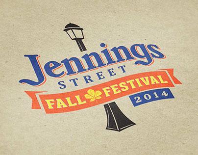 Branding & Print Design – Jennings Street Fall Festival