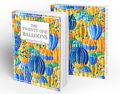 The 21 Balloons Book Cover