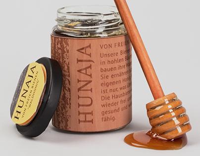 Hunaja, Honig von freien Bienen - Packaging