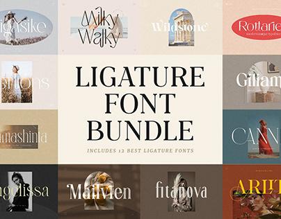Ligature Font BUNDLE