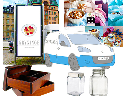 Breakfast Home-Delivery Concept