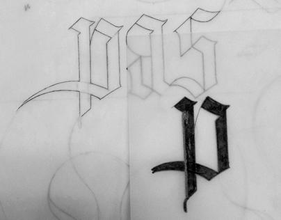 Calligraphy – Le Pas-Sage