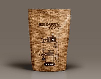 Brown Civet Coffee