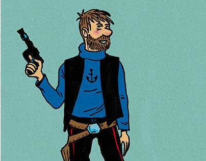 Tintin vs Star Wars