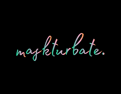 Maskturbate | Logo and Branding Redesign
