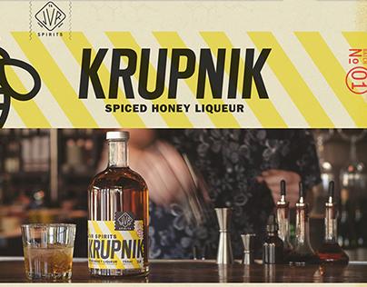 jvr spirits krupnik packaging + branding