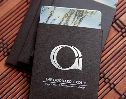 Business Card Graphics for the Goddard Group