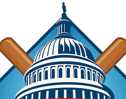 Congressional Baseball Game logo - 2014