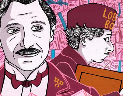 New Yorker Illustration: The Grand Budapest Hotel