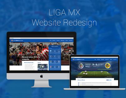 Liga MX Web Redesign