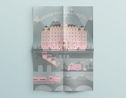 The Grand Budapest Hotel // Poster Design