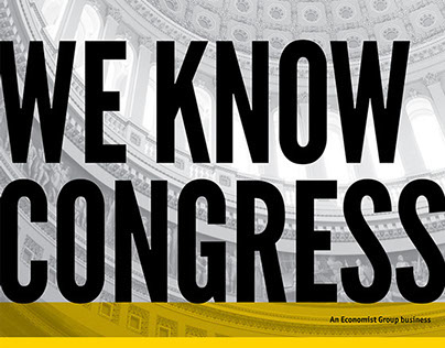 CQ Roll Call Pocket Folder - We Know Congress