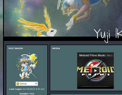 Gaia Online Profile Theme - Yuji Ikaido