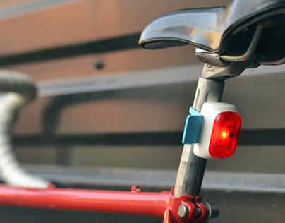 Velodroom bicycle lights