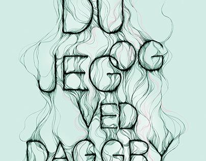 Book cover artwork, Du og Jeg ved Daggry