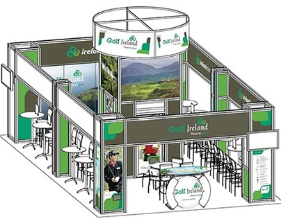 Display for PGA Merchandise Show