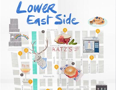 Lower East Side Map
