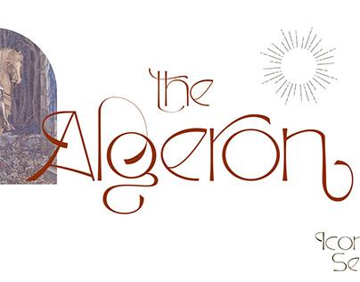 Algeron Thin Serif