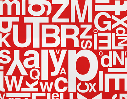 Poster on Helvetica