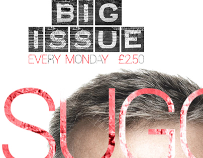 Big Issue, new typographic system - page layouts