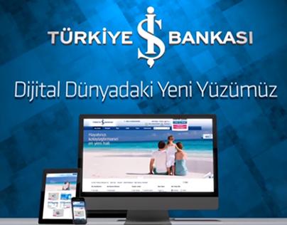 Isbank.com.tr New Design