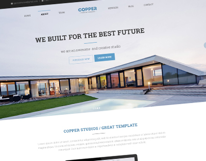 Copper - Multipurpose WP Template