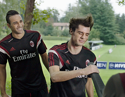 Nivea Men Sensitive Real Madrid & Milan (2014)