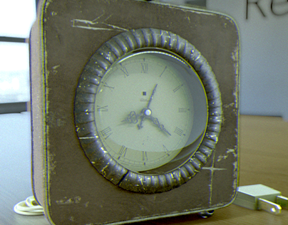 Antique table clock design